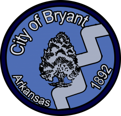1city of bryant logo