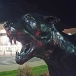 10 Allegedly Involved in Panther Statue Vandalism; 1 Charged As Adult