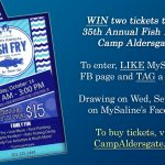 MySaline is Giving Away 2 Tickets to the Camp Aldersgate Fish Fry