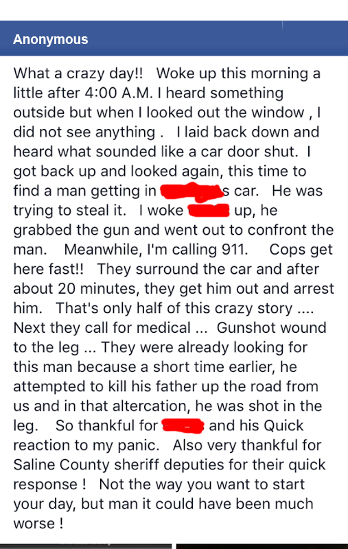 car-theft-arrest-fb-post