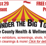 """Under the Big Top"" Saline County Health & Wellness Fair Coming Oct 29th!"