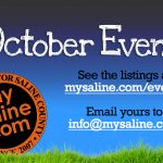 Get your October events on MySaline's list!