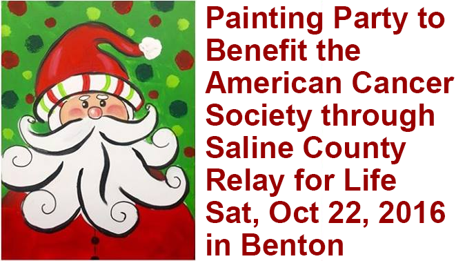 Painting Party Benefit Night Planned at Dianne Roberts' Studio in Benton Oct 22