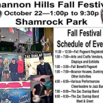 Shannon Hills is Hosting Their Fall Festival Oct 22