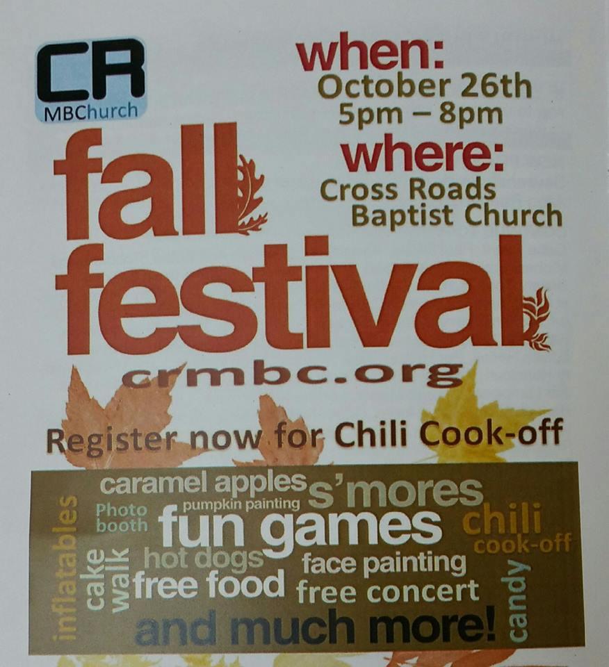 crossroads church fall festival 1610
