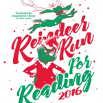 The Reindeer Run for Reading event is Nov 19th at Mills Park