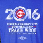 Boys & Girls Club presents Commemorative T-Shirt for Travis Wood MLB World Champ