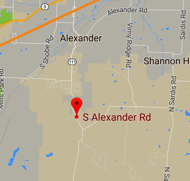 South Alexander road