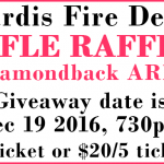 Sardis FD Holding Rifle Raffle to Raise Funds