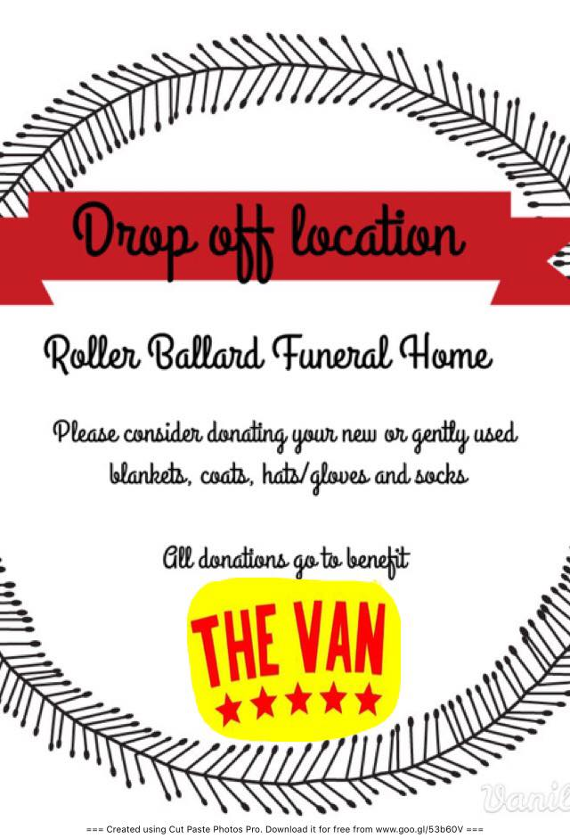 roller-ballard-donation-dropoff-for-the-van