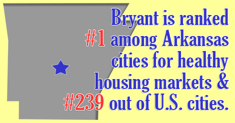 bryant number 1 in housing markets