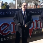 Video: New Sign Dedicated for Gateway to Historic Downtown Benton