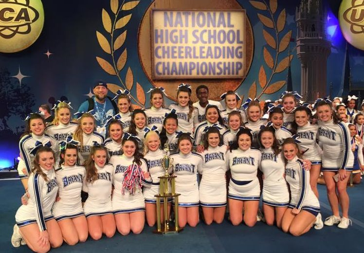 Bryant High School wins 1st in national cheer competition Feb 12, 2017.