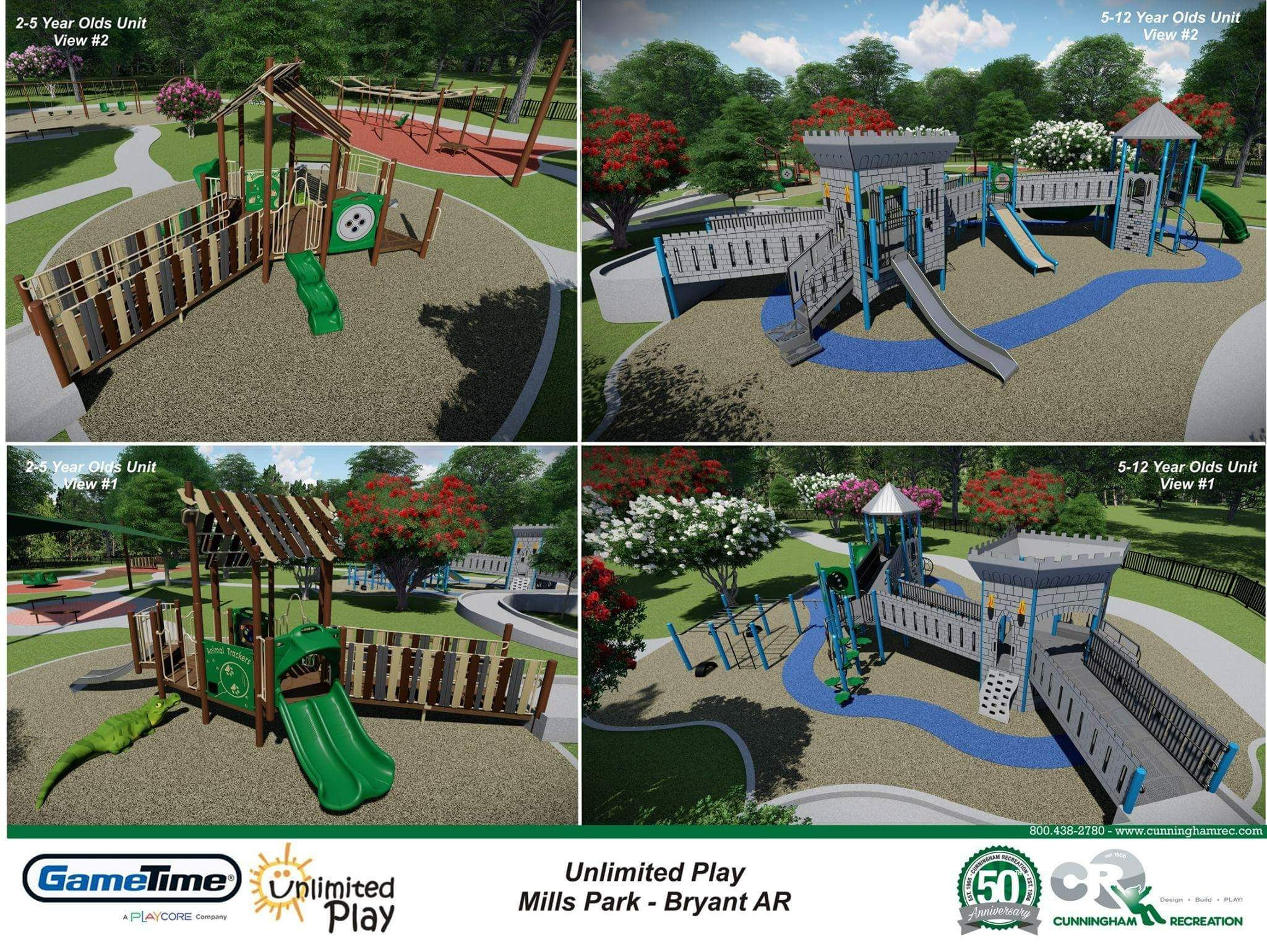 Bryant Parks Gets $250K Grant for All-Inclusive Playground at Mills