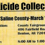Saline County hosting free event to dispose of pesticides March 15th