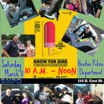 "Get Your Child Safety Seat Checked with Benton PD March 11th and ""Know for Sure"""