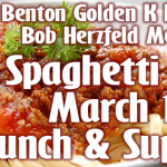 Annual Kiwanis Spaghetti Fundraiser is Mar 14th for Lunch & Supper