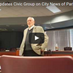 Video: Benton Mayor Updates Civic Group on City News of Parks, Streets & Business