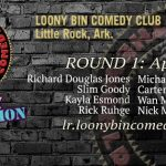 Round 1 of The World Series of Comedy, Wednesday Night