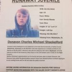 Sheriff's Office Seeks missing Juvenile From Saline County