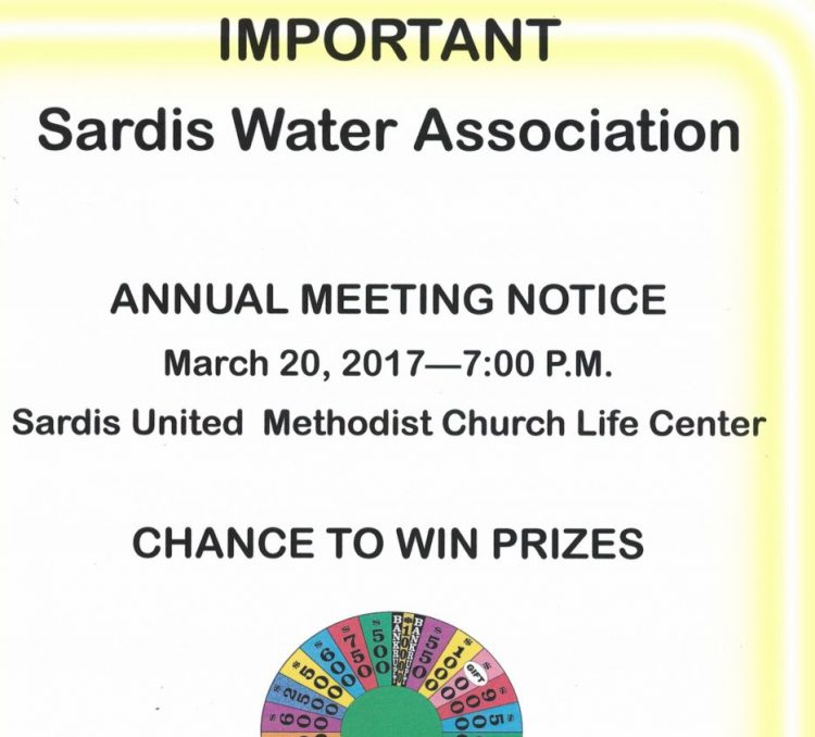 Sardis_annual_meeting_notice_3-20-2017
