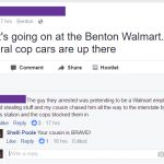 Two Arrests Made After Shoplifting Call and Subsequent Chase in Benton