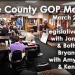 Video: Saline Co. GOP Meeting Features Legislative Update & Both Sides of Bryant Millage