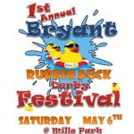 1st Year for Rubber Duck Derby Fest by Bryant Rotary Is May 6th in Bryant