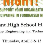 Two Fundraiser Nights at McAlister's for Bryant Students, April 6th & 13th