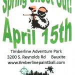 Shoot Your Friends and Family on April 15th at the Paintball Park