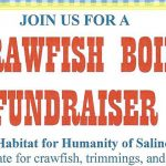 Crawfish Boil in Bryant April 21st to Benefit Habitat for Humanity