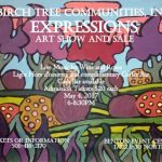 Birch Tree Communities Presents 14th Annual Expressions Art Show & Sale May 4th