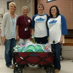 Local JA Chapter Presents $500 in PE Equipment to Howard Perrin Elementary