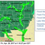 NWS Issues Flood Warning Until Tuesday Afternoon