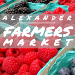 The City of Alexander Announces a Farmers Market in the Park on Saturdays This Summer
