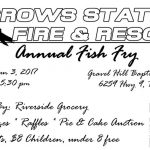 Crows Station Fire & Rescue Annual Fish Fry is June 3rd