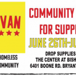 "Donate Supplies at Bishop Park During This Drive for ""The Van"" to Help the Homeless"