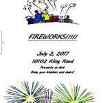 Fireworks Show Sunday Night in the Sardis Area
