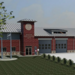 Benton's Newest Fire & Police Substation Taking Shape