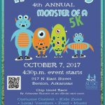 "Annual ""Hudson's Monster of a 5K"" Race Happens Oct 7th in Benton"