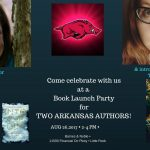 Meet Two Saline County Authors at Book Signings Saturday in LR