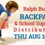 Ralph Bunche Backpack & School Supplies Distribution is Aug 10th in Benton