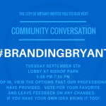 City of Bryant's New Branding Design – Come Give Your Opinion Sept 5th