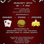 Games Food and Prizes, August 12th at Unity Fest Outdoor Worship Service in Benton