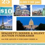 Northside Church to Host Spaghetti Dinner Aug 25th to Benefit Kids' Travel Club