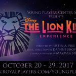 The Young Players Present The Lion King Experience Oct 20-29