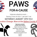 """Paws for a Cause"" Dog Adoption Event for Veterans This Saturday at Fairgrounds"