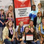 Bryant High School First In State Named Natl Unified Champion School by Special Olympics