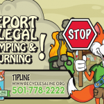 Use This Tip Line for Illegal Littering or Dumping in Saline County