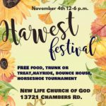 Harvest Festival in Bauxite Nov 4th Features Food, Treats, Hayride, Horseshoes and more